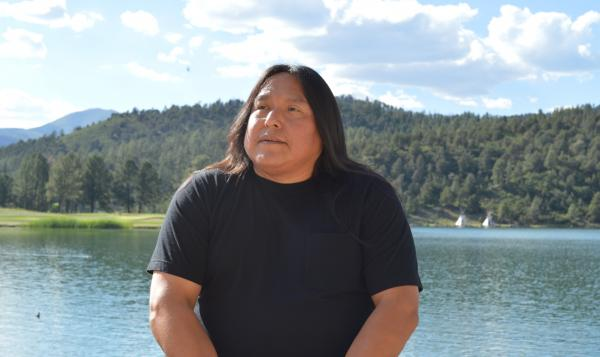 Robert Geronimo, a descendant of Geronimo, works at the Inn of the Mountain Gods, the tribe's resort and casino in Mescalero, New Mexico. He became aware of his famous ancestor when he was in kindergarten. Photo by Kerri Cottle.
