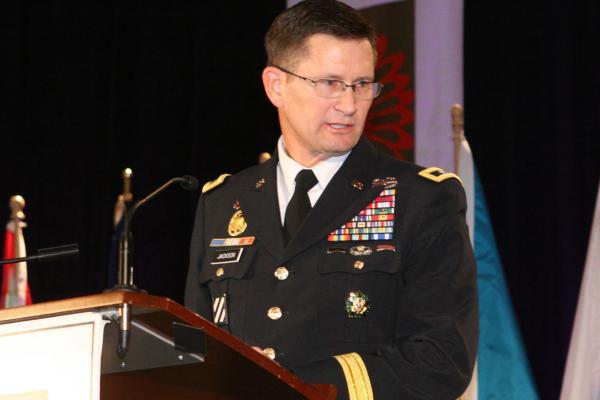 Major General Donald Jackson.