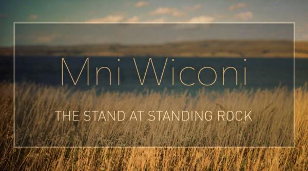 "Courtesy Standing Rock In the midst of federal government deliberations over the Dakota Access Pipeline, the Standing Rock Sioux tribe has released a short film titled ""Mni Wiconi: The Stand at Standing Rock."""