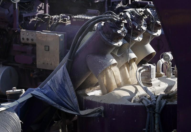Fracking water needs a closer look, EPA says. CREDIT: AP Photo/Brennan Linsley.