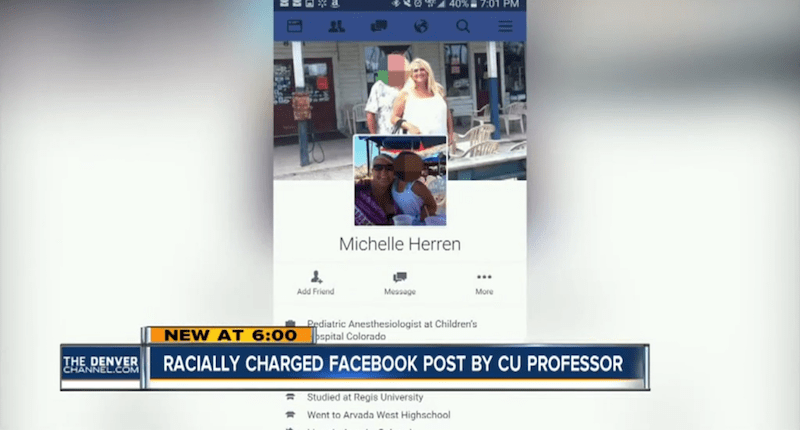 Colorado Doctor Michelle Herren (Denver Channel, screenshot).