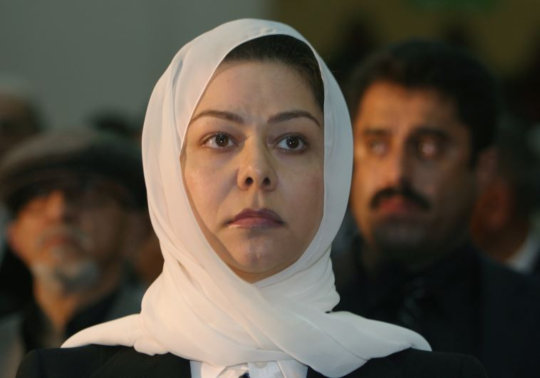 Raghad Saddam Hussein, daughter of the former Iraqi president Saddam Hussein. (photo credit:REUTERS)