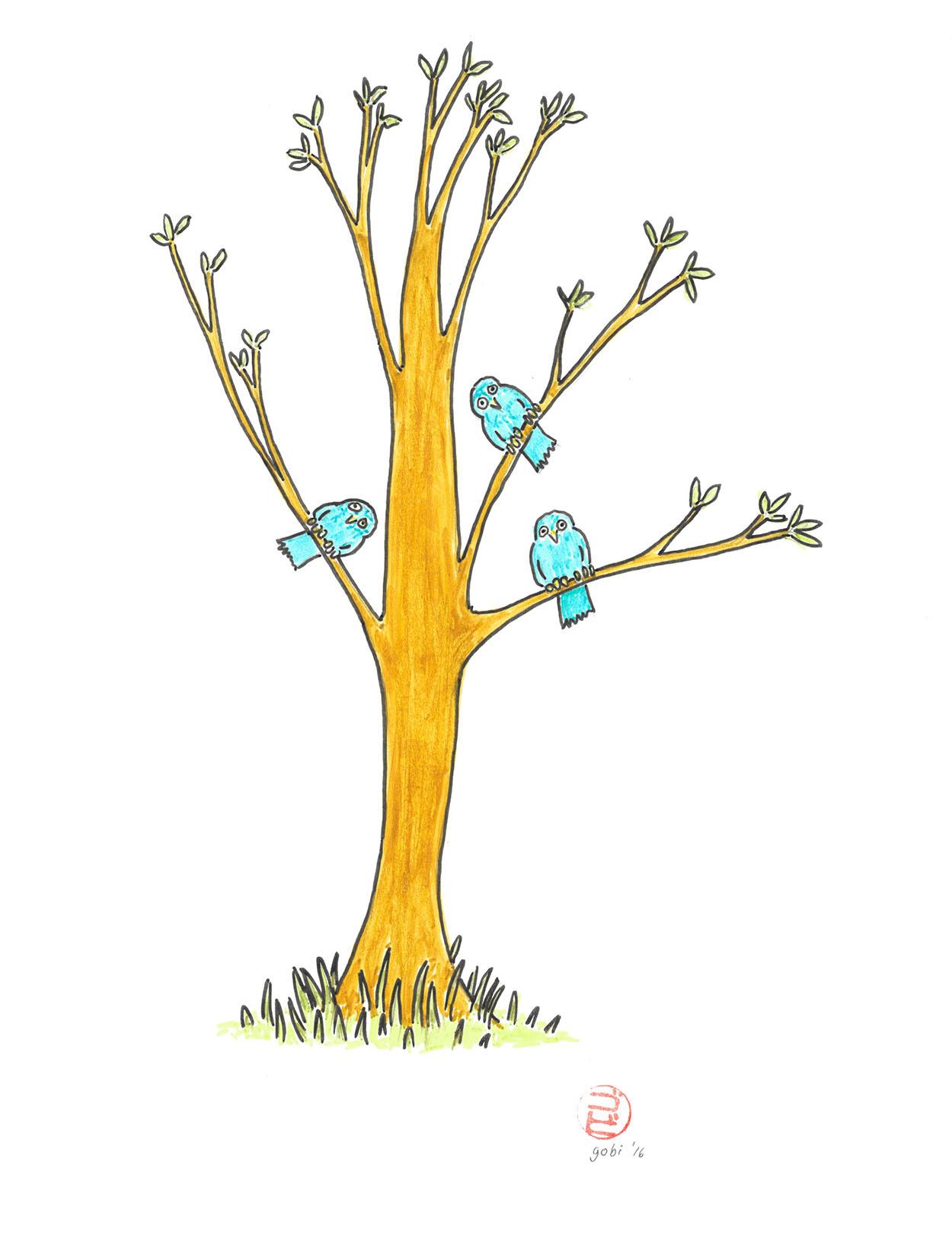 birds-in-tree