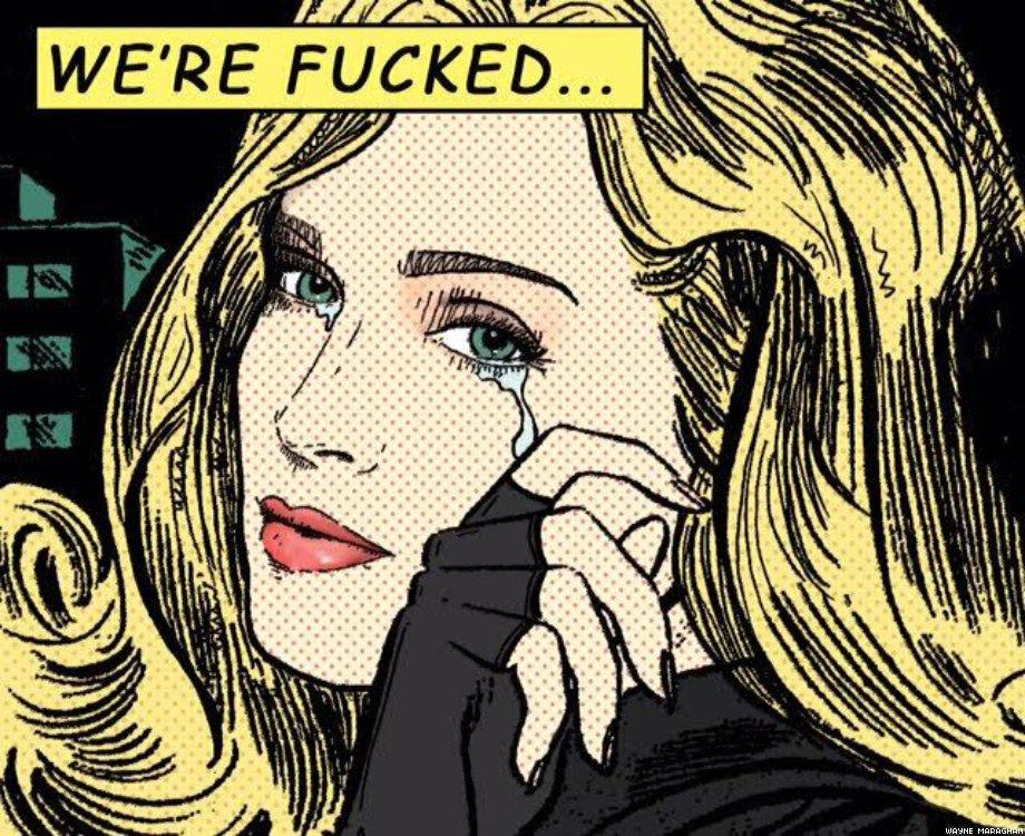 The Weeping Madonna, by Wayne Moraghan.