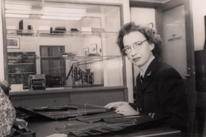 Grace Hopper. Photo: Kay Peterson/Archives Center, National Museum.