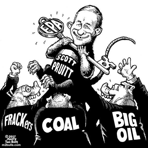 Scott Pruitt: Environmental Profit Agency.