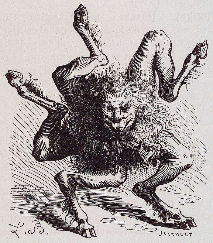 Today we have Buer, a Great President of Hell, having fifty legions of demons under his command. He appears when the Sun is in Sagittarius. He teaches natural and moral philosophy, logic, and the virtues of all herbs and plants, and is also capable of healing all infirmities (especially of men) and bestows good familiars. He has been described as being in the shape of Sagittarius, which is as a centaur with a bow and arrows.