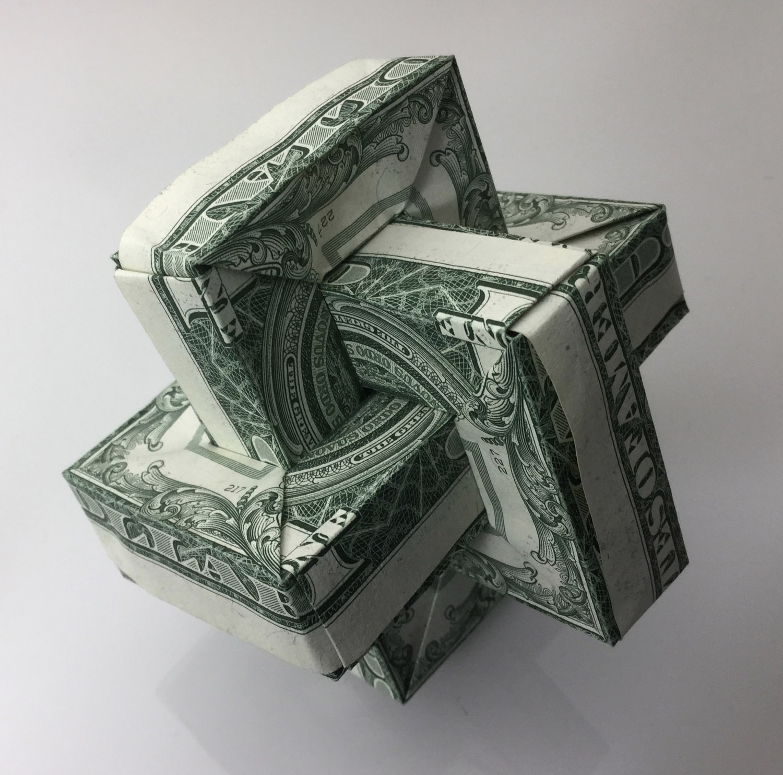 Dollar Bill Origami: Multiple Bill Folds. - photo#14