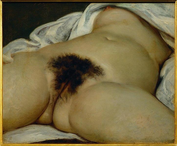 L'Origine du monde, Gustave Courbet, 1866.