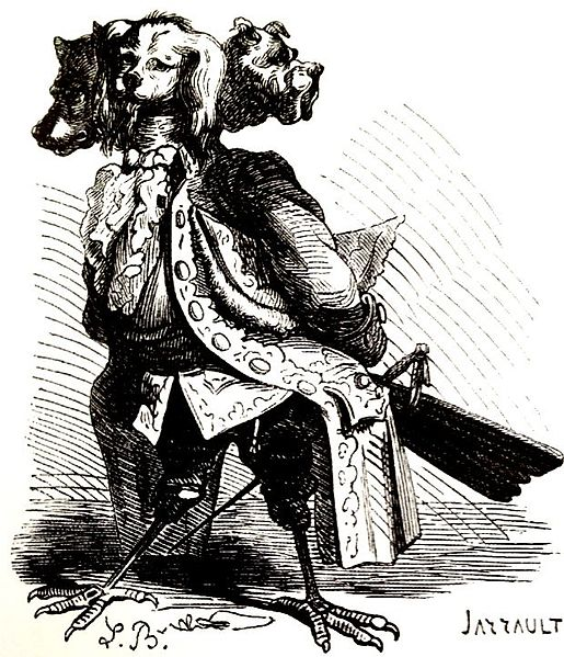 Naberius, most valiant Marquess of Hell, and has nineteen legions of demons under his command. He makes men cunning in all arts (and sciences, according to most authors), but especially in rhetoric, speaking with a hoarse voice. He also restores lost dignities and honors.