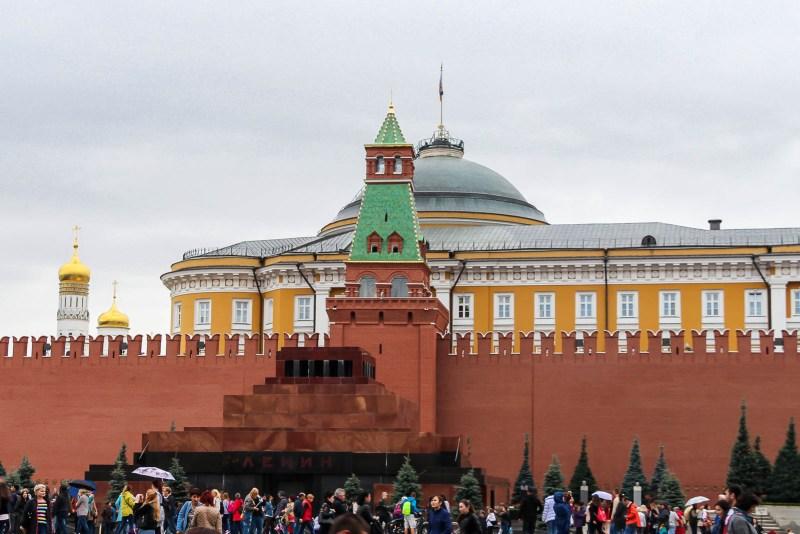 Kremlin with Lenin's tomb