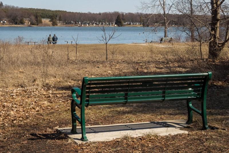 Bench at the lake