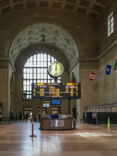 Interior Union Station