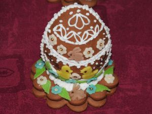 Gingerbread Egg