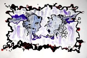Inside Cancerland: Distortion Series 2, Fatigue Reflected.