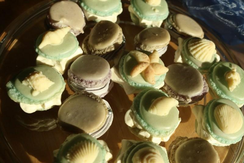Macarons, close up