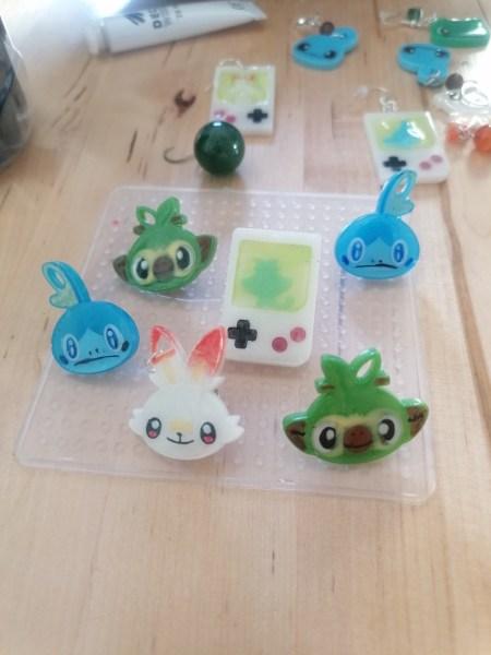 Pins of the Pokémon