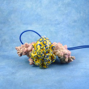 Blue Ringed Octopus necklace