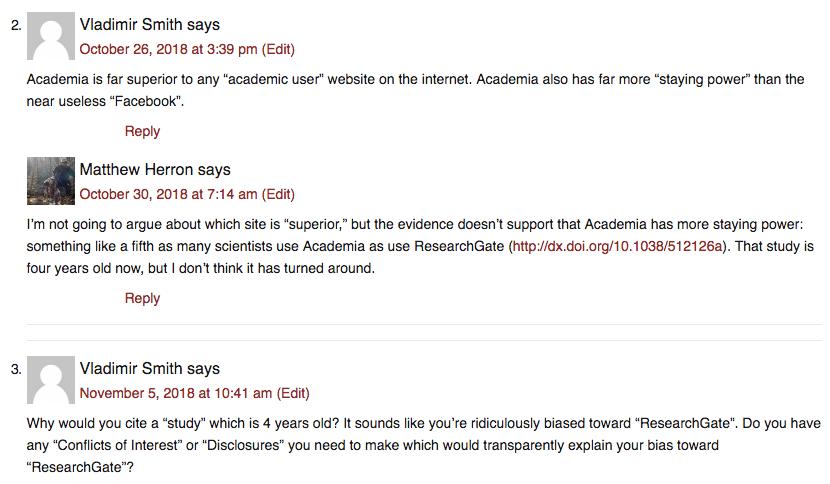 Academia Premium comments