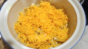 Layer 2 - Shredded Cheese