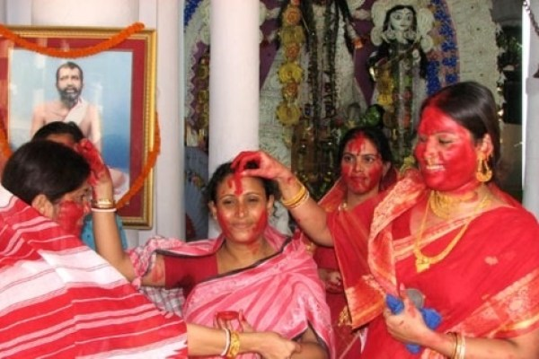 Sindoor Khela, the celebration of patriarchy