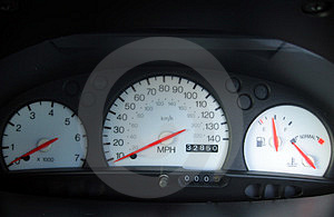 Free Stock Photography: Car Dials Picture. Image: 15957