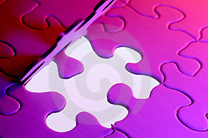 Stock Photos - Puzzle Background