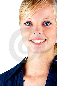 Free Stock Photography - Blonde Hair and Blue Eyes