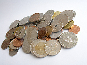 Stock Photography: Coins Picture. Image: 191552