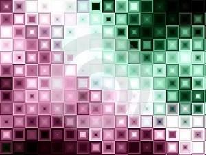 Free Stock Image - Green Block Tiles Squares