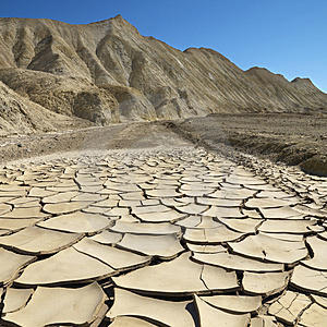 Free Stock Image - Cracked ground in Death Valley