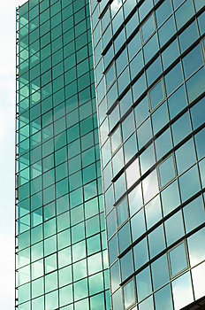 Stock Images - Office building mirror fasade