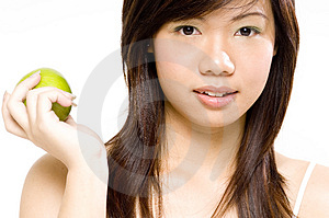Healthy Girl 4 Stock Photos
