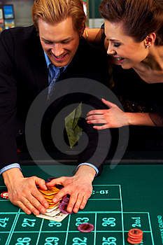 Stock Image - Winning Big!