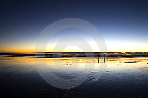 Free Stock Photo - Reflections in the sand