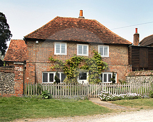 Free Stock Image - English Village House