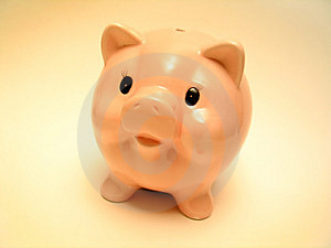 Stock Photo: Pink Piggy Picture. Image: 35120