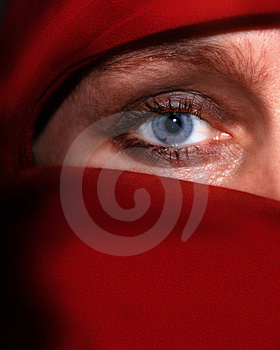 Stock Images - Red veil