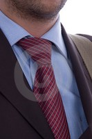 Stock Images - Business man tie detail
