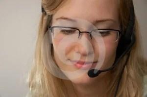 Free Stock Photo - Hotline girl