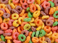 Stock Image - Colourful cereal