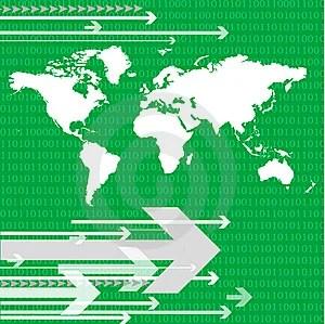Free Stock Photo - World map