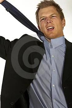 Free Stock Photo - Worried Businessman