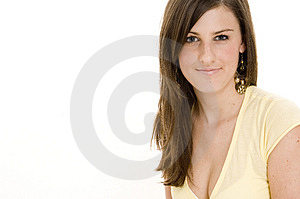 Brunette Free Stock Photo