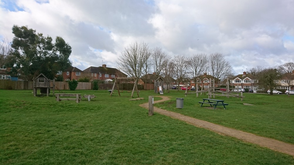 The Fairmile playground in Aylesbury