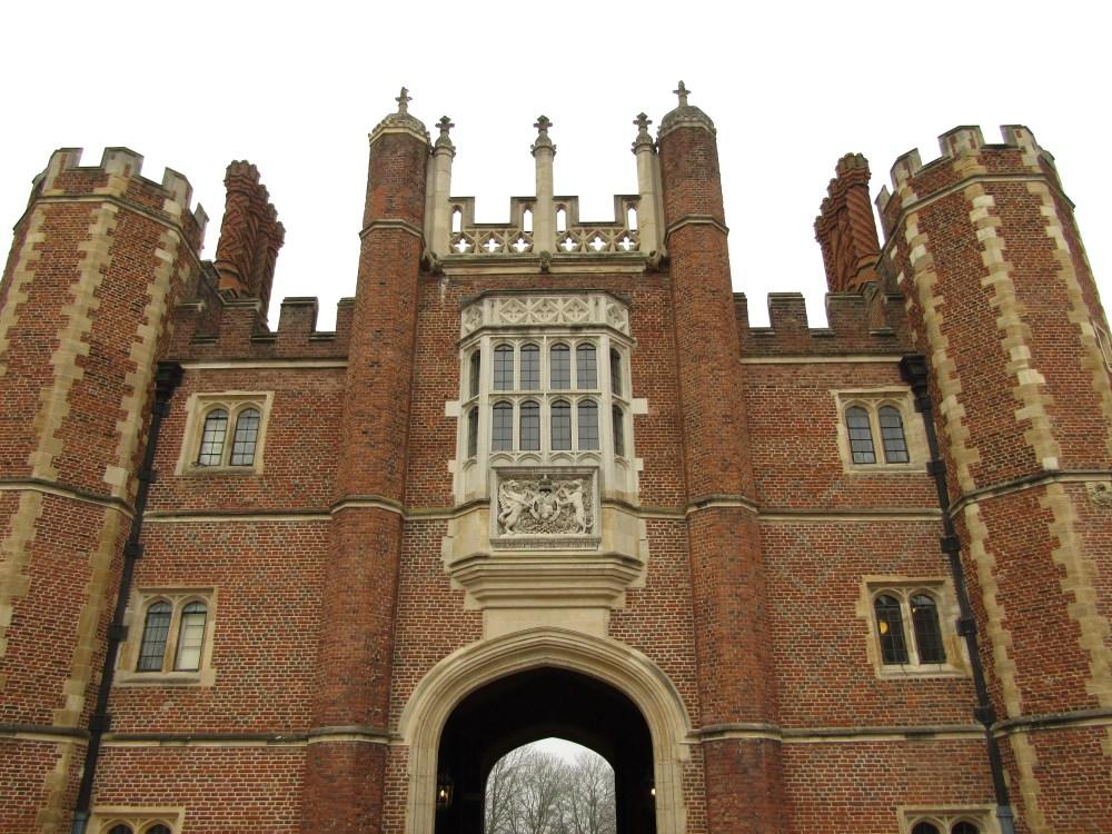 The gateway at Hampton Court Palace