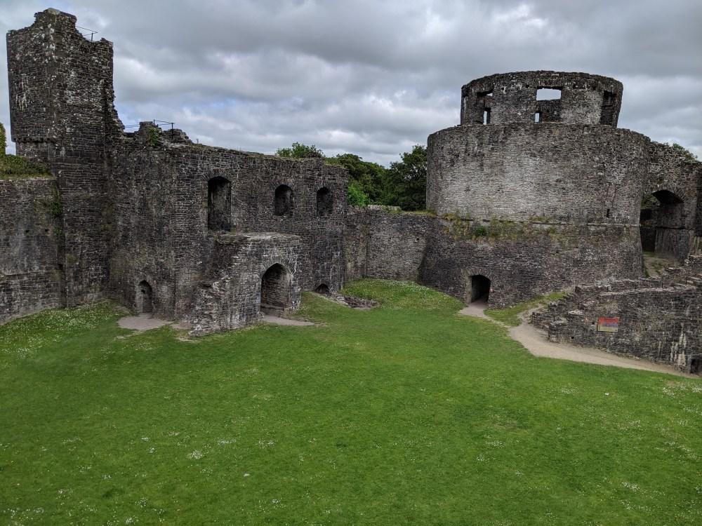 Part of Dinefwr castle