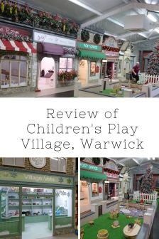 Children's Play Village Review | Role play village | Warwick | Free Time with the Kids