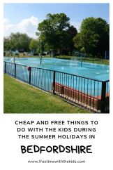 What's on in Bedfordshire   summer holidays   Cheap and free  