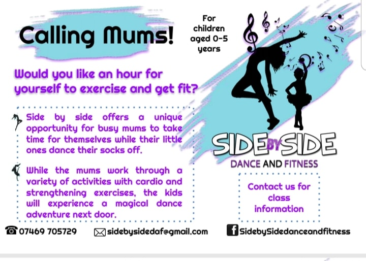 Side by side dance and fitness | Aston Clinton | Free Time with the Kids
